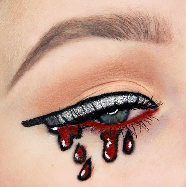 15 Halloween Themed Makeup Looks to Die For