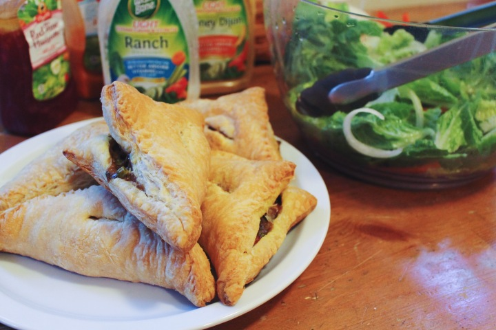 Vegetable Pot Pie Turnovers